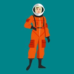 3140182a Valentina Tereshkova, the first woman to have ventured into space! Valentina  Tereshkova, Illustrator