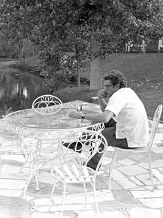 James Dean indulging in thought