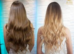 """Trendy highlights with """"wow"""" effects  ombre, balayage ombre, copacabana highlight"""