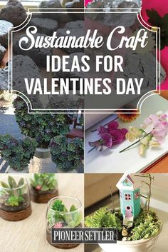 Valentine's Day Ideas | Sustainable Crafts For Your Love (Great For Country Girls) | Beautiful Gift Ideas From Repurpose Materials by Pioneer Settler at http://pioneersettler.com/valentines-day-ideas-crafts/
