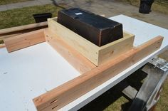 fit patio table ice box frames to supports 7, Kruse's Workshop on Remodelaholic