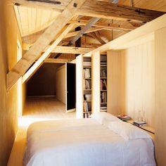 Une chambre design dans un bloc