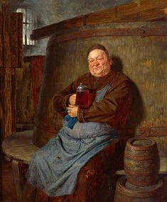 """Beer Brewing, Art Gallery, Brewer Monk, Beer Martin, Artist 1846, Beer In Art, Monks And Beer. """""""