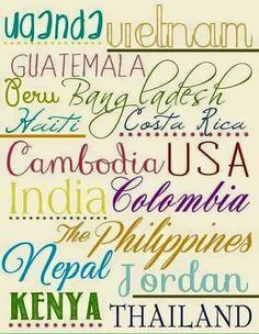ToH Artisan countries