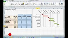 How To... Create a Progress Gantt Chart in Excel 2010