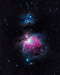 M42 - The Orion Nebula by Adam Steenwyk ... shot with a simple Nikon camera