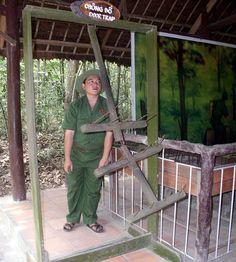 Door trap used during the Vietnam War
