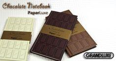GRANDLUXE/グランデックス ノート [PaperLuxe/チョコレートノートブック]850円 (税込 918 円) 送料別