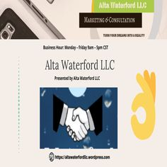 """Alta Waterford LLC is a business consulting company that focuses on clients' satisfaction a lot. Their experts would make you feel at home and would always be available to assist you. And this is the prime responsibility of any successful firm!  👉altawaterfordllc@gmail.com """"Hit The Save Button & Follow Us"""" #AltawaterfordllcWordpress #Helpyoutogrow #MarketingAgency Consulting Companies, Consulting Firms, Economic Environment, Essential Questions, Business Organization, Business School, Something To Do, Wordpress, Good Things"""