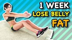 8 Effective Exercises that Burn Stomach Fat Fast Burn Stomach Fat, Reduce Belly Fat, Lose Belly Fat, Gym Workout For Beginners, Workout Videos, Kids Workout, Exercise Videos, Workout For Flat Stomach, Belly Fat Workout