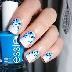 kuhni1990: Dotticure Base essie Find me an Oasis. Dots essie Make some noise, Style Cartel and Saltwater Happy