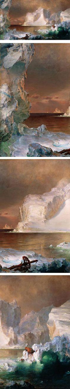 The Icebergs, Frederic Edwin Church