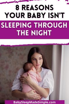 You're an exhausted parent. It's understandable if your baby isn't sleeping through the night! But do you want to find out WHY your baby keeps waking up at night? These are the real reasons your baby won't sleep. It explains why night wakings happen and how they affect night sleep, and gives you the best baby sleep advice. Don't waste more time being tired. Get this completely FREE guide to understand what's really going on with your child at any age - newborn, baby, toddler or preschooler. How To Night Wean, How To Get Sleep, Bedtime Routine Baby, Baby Sleep Schedule, Breastfeeding Problems, Breastfeeding Tips, Baby Sleep Consultant, Working Mom Tips, Toddler Sleep