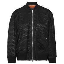Alexander Wang Boyfriend Bomber Jacket with Net as seen on Taylor Swift