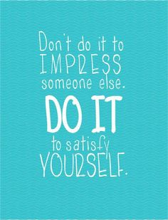 Do it for yourself ;) #fitness quotes