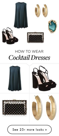 """""""Ann'Ro"""" by meggy1995 on Polyvore featuring Miu Miu, CO, Charlotte Olympia, House of Harlow 1960 and Alexis Bittar"""