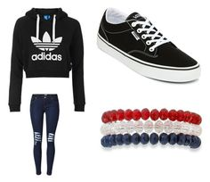 """Untitled #475"" by jamiesowers14 on Polyvore featuring Topshop, Vans and Kim Rogers"