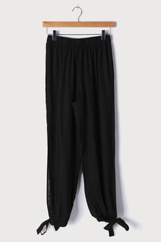 Jogger Pants, Harem Pants, Side Slit Pants, Cute Pants, American Fashion, Fashion Joggers, Black Side, Look Cool, Ankle Length