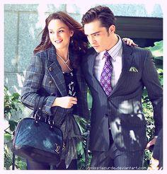 I want Blair's wardrobe, so chic and stylish... and Chuck Bass.