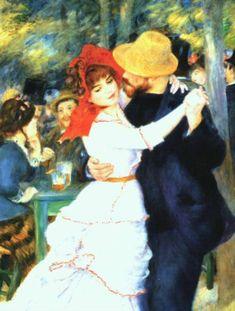 Dance at Bougival - Renoir