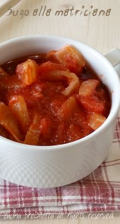 Sugo alla matriciana, ricetta sughi e condimenti per pasta, cucina preDiletta, a cura di Diletta Arcidiacono