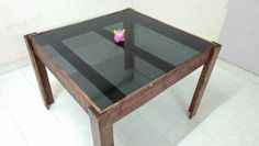 Keep it simple! Drinking Pallet Table. Check out more designs at www.yourpallettable.com