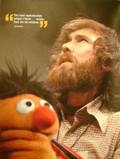 Jim Henson and Ernie