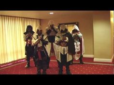 Funny Harlem Shake (Assassin's Creed Version). They had a little free time to dance.