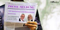Pressemeldung |  Oberösterreichische Partner übernehmen Hill International Hill International, Manfred, Baseball Cards, Brand Ambassador, Linz