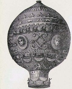 Montgolfier's Balloon & Flying Machines 1892!