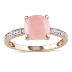 Pink opal for Octobe