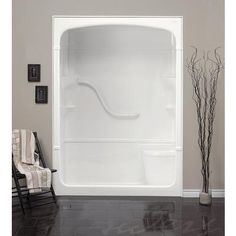 Alternative shower stall. Walkin Acrylic Seated Safety Shower ...