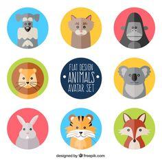 https://www.google.co.jp/search?q=動物 フラット