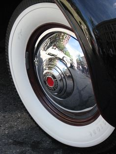 packard super eight u2013 a history of the whitewall tire