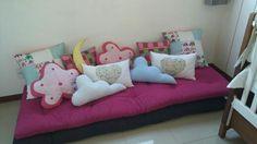 Almofadas divertidas para quarto de bebê!!
