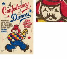 A Confederacy of Dunces by John Kennedy Toole  Artist ~ Gary Taxali