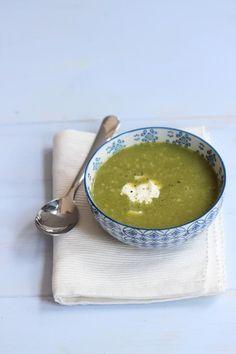 Snelle maaltijd - courgette soep - Lekker en Simpel