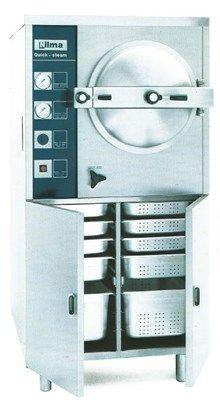 TRYKKOKER (GASS). KAP. 18KG. 3x 1/1-GN. 75x80x151,5h/cm.