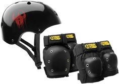 Darkstar Helmet And Pad Pack Mens