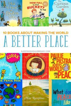 Inspire our future generation with children's books about making the world a better place. Get ideas to teach empathy, kindness to people and taking care of our world. These 10 #childrensbooks about changing the world will inspire and show kids how to do just that. Even includes a FREE Read Aloud Book List with hundreds of favorite selections to read aloud with your kids, organized by age!