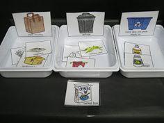 Earth Day Activities For Kids Teaching Earth Day Activities, Science Activities, Activities For Kids, Science Projects, Recycling For Kids, Recycling Center, Recycling Games, Community Helpers Preschool, Kindergarten Rocks
