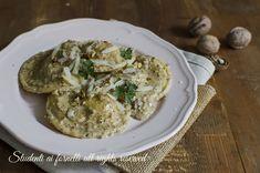 ravioli noci e gorgonzola con ricotta ricetta ravioli ricotta e noci fatti in casa ricetta primo piatto facile