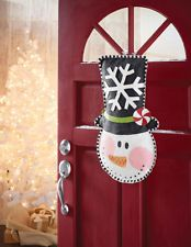 Mud Pie Hand Painted Burlap Snowman Door Hanger Christmas Decoration (three designs to choose from) at Seasons by Design specialty shop, 2605 Ford Drive, New Holstein, WI 53061.       920-898-9081 Seasonsbydesigngifts@yahoo.com  Follow us on Facebook