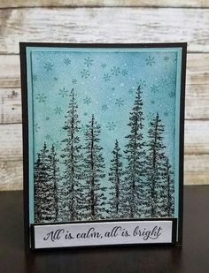 Check out this item in my Etsy shop https://www.etsy.com/listing/496546713/serene-winter-forest-christmas-card