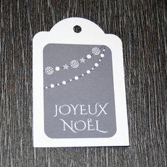 """9 étiquettes cadeau """"Joyeux Noël"""" : Emballages cadeaux par creerpourvous"""