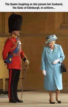 """Shut Up Elizabeth, I'm Doing My Job!"" I love that queen!"