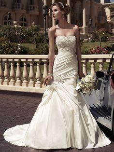 Style 2104 | Casablanca Bridal | Chantilly Lace Bridals | Blacksburg, Virginia | www.chantillylacebridals.com