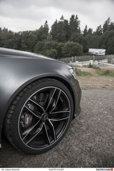Dat wheel - our review of Audi RS6 C7 Avant: http://exoticcars.pl/testy/audi-rs6-avant/