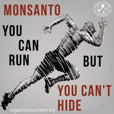Monsanto thinks it can escape its poisonous history and evil reputation by changing the company's name and moving overseas. But we're on to them.  #MonsantoMakesUsSick