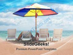 Beach Relax Holidays PowerPoint Templates And PowerPoint Backgrounds ...